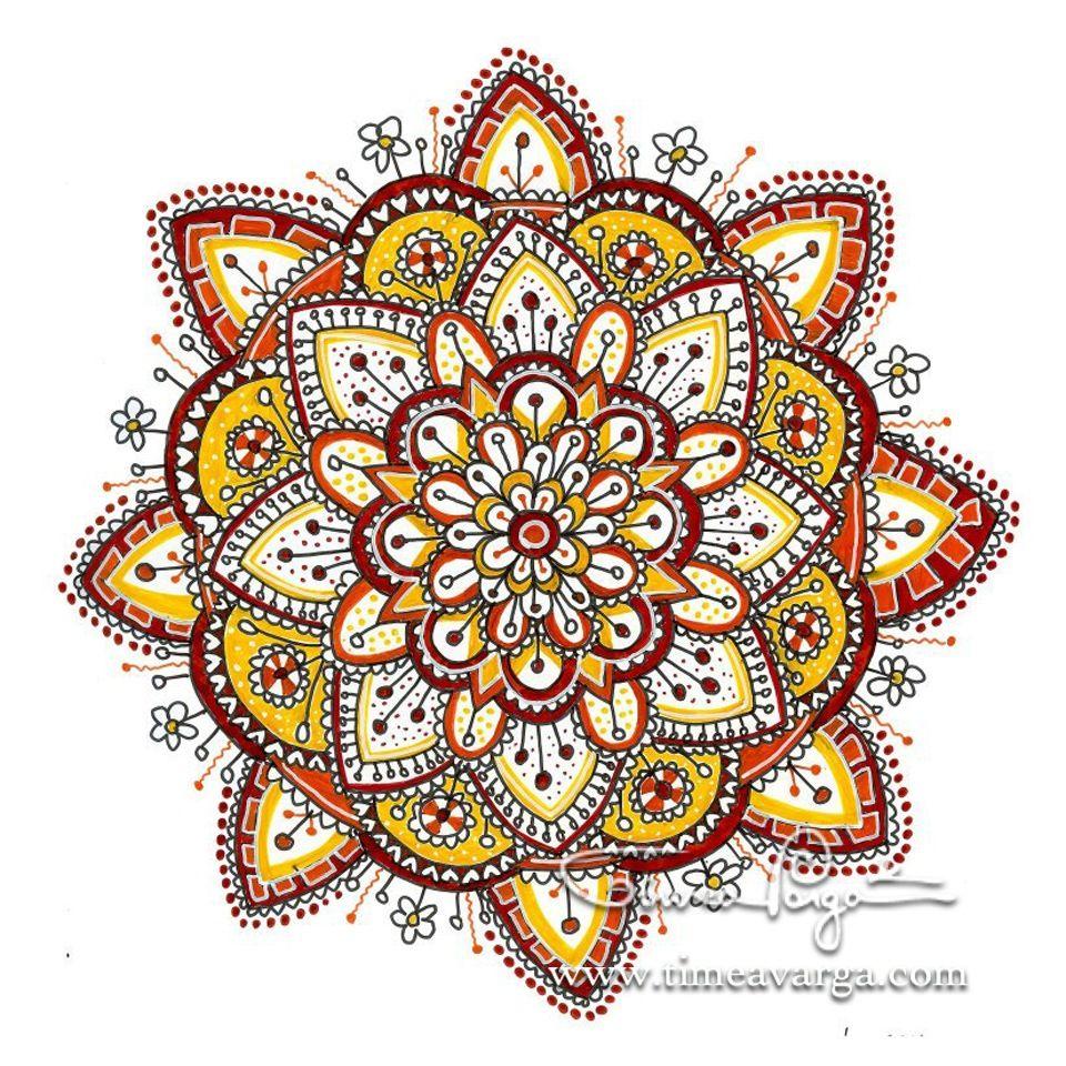 Zendala Ii Mandala Drawing Mandala Art Mandala