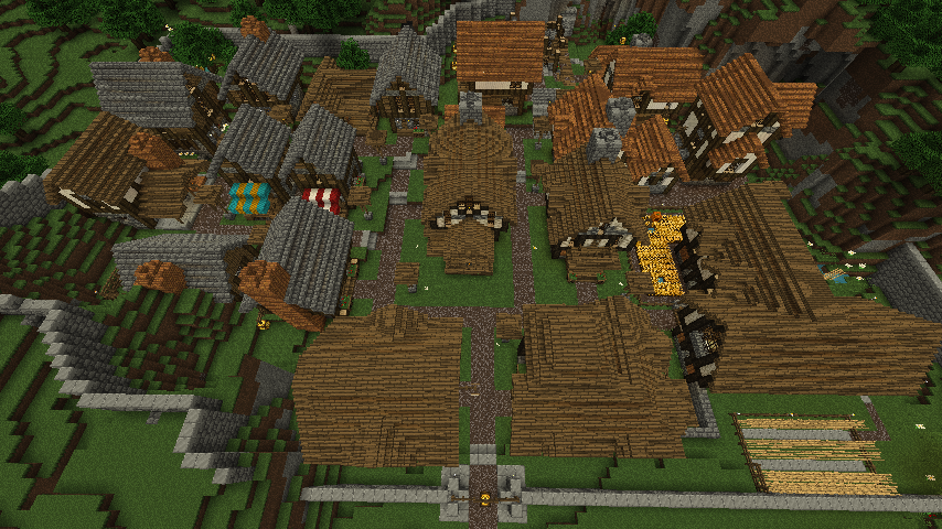 Quaint Medieval Town  Download Added   - Screenshots - Show Your Creation