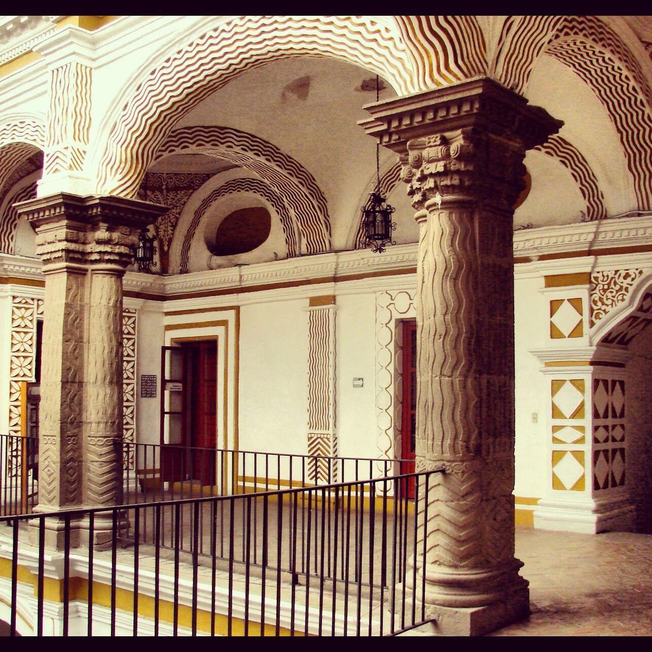 Interior de la casa de las bóvedas Av. Palafox y Mendoza 406 Puebla