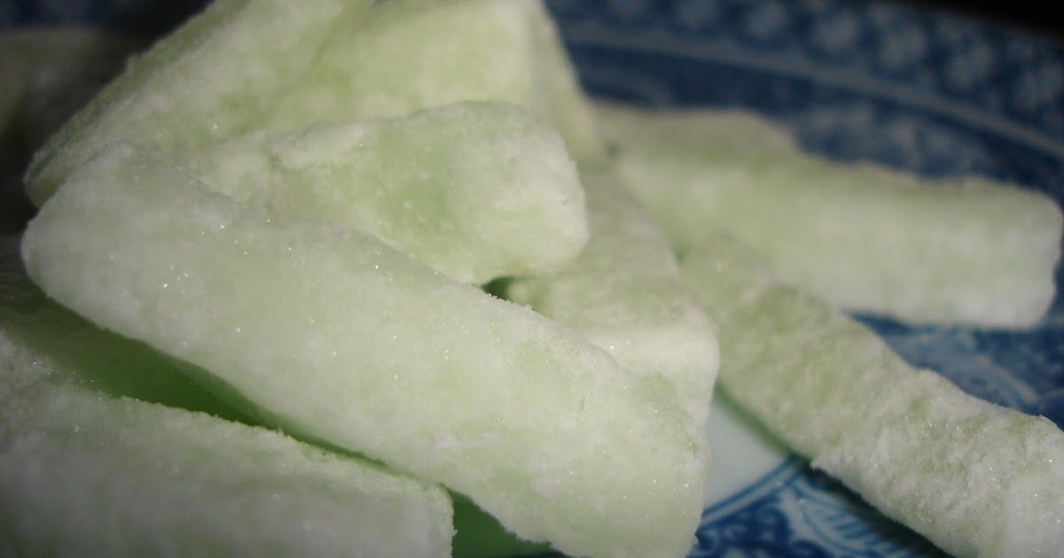Candied winter melon #wintermelon