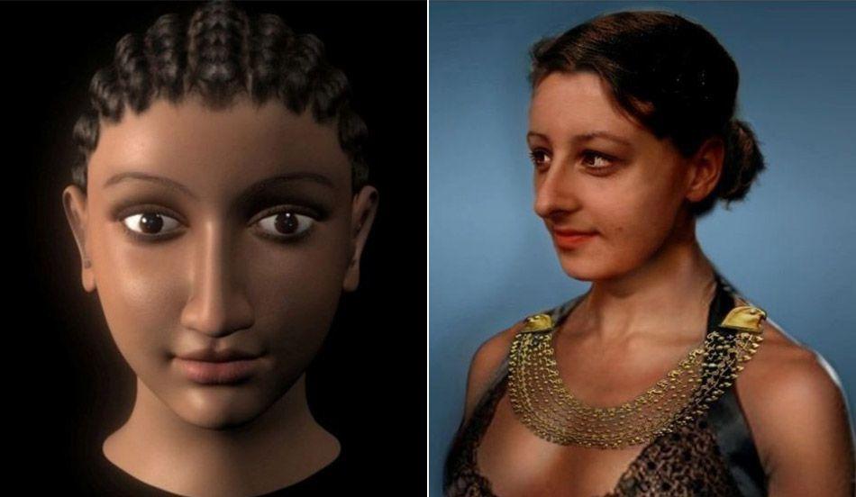 Estudos revelam o verdadeiro rosto de Cleópatra | Foto storiche, Foto,  Storico