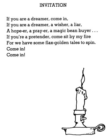 Invitation To Poetry Poem By Shel Silverstein Shel Silverstein Poems Silverstein Poems Shel Silverstein