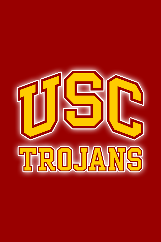 Get A Set Of 12 Officially Ncaa Licensed Usc Trojans Iphone Wallpapers Sized For Any Model Of Iphone With Your Te Usc Trojans Logo Usc Trojans Trojans Football