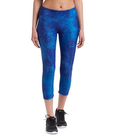 972c14f6d3551 Love this Royal Blue Capri Leggings on #zulily! #zulilyfinds | Royal ...
