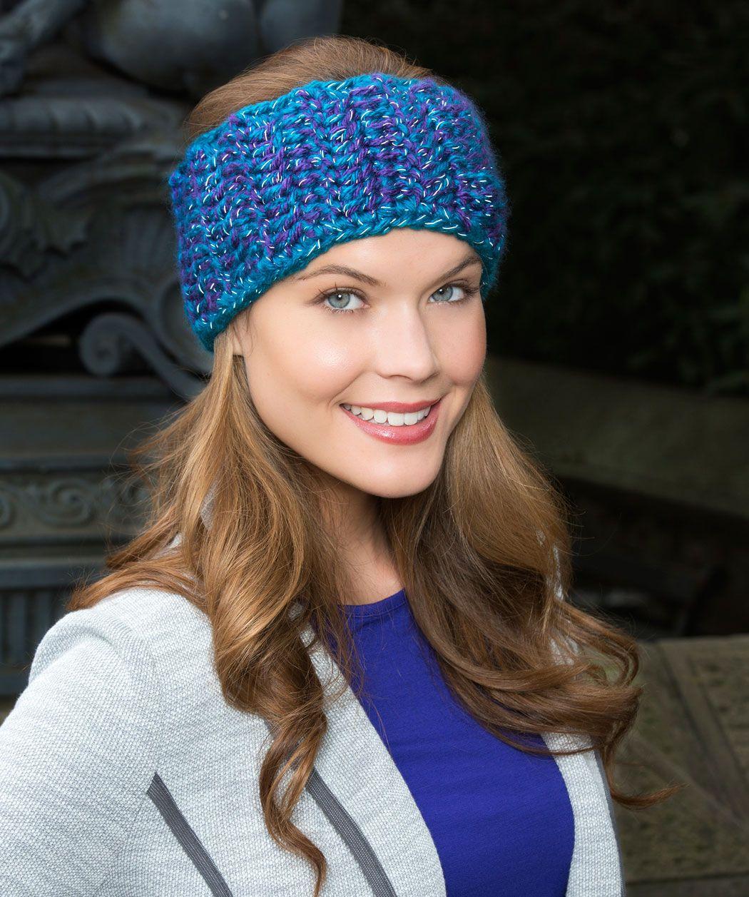Wohlig warmes Stirnband | Handarbeit | Pinterest | Garne, Muster und ...