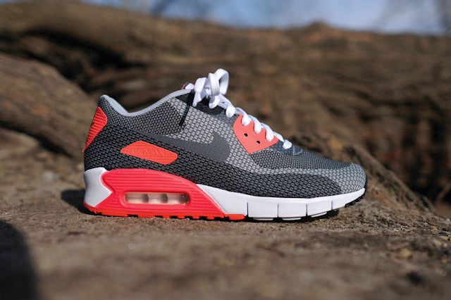 nike am90 jacquard infrared bump 8 in 2019 | Nike air max