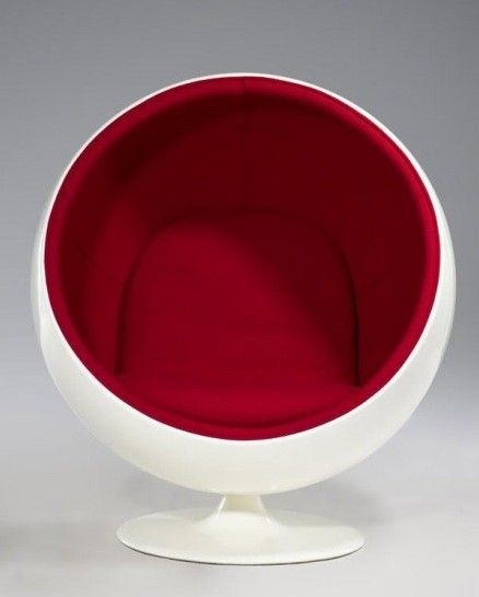 Ballchair - Cocoonchair | Ball chairs - Egg chairs | Design meubels, Retro verlichting & cadeaushop, Space Age new vintage