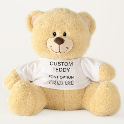 Custom Giant 21 Quot Teddy Bear Template Stone Age Template Gifts Custom Diy Customize Valentines Day Teddy Bear Large Teddy Bear Teddy Bear Template