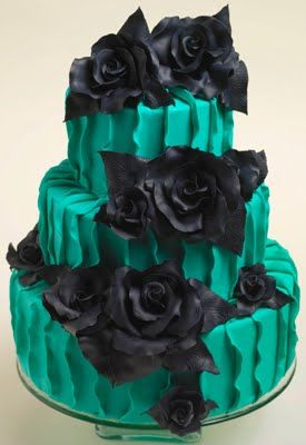 Gothic Birthday Cakes On Pinterest Gothic Cake Skull