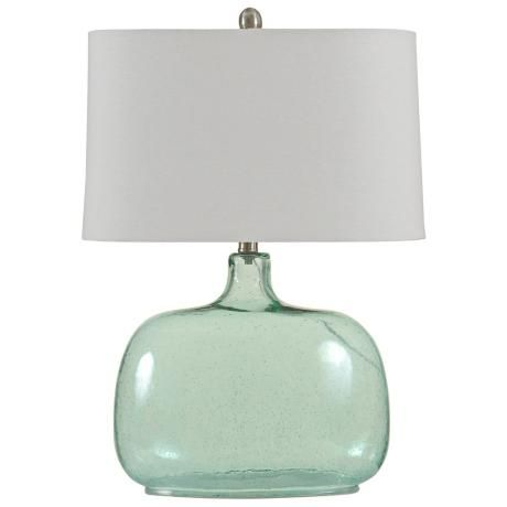 Brentford Seeded Teal Glass Table Lamp Y9103 Lamps Plus Lamp Modern Glass Table Lamps Glass Table Lamp