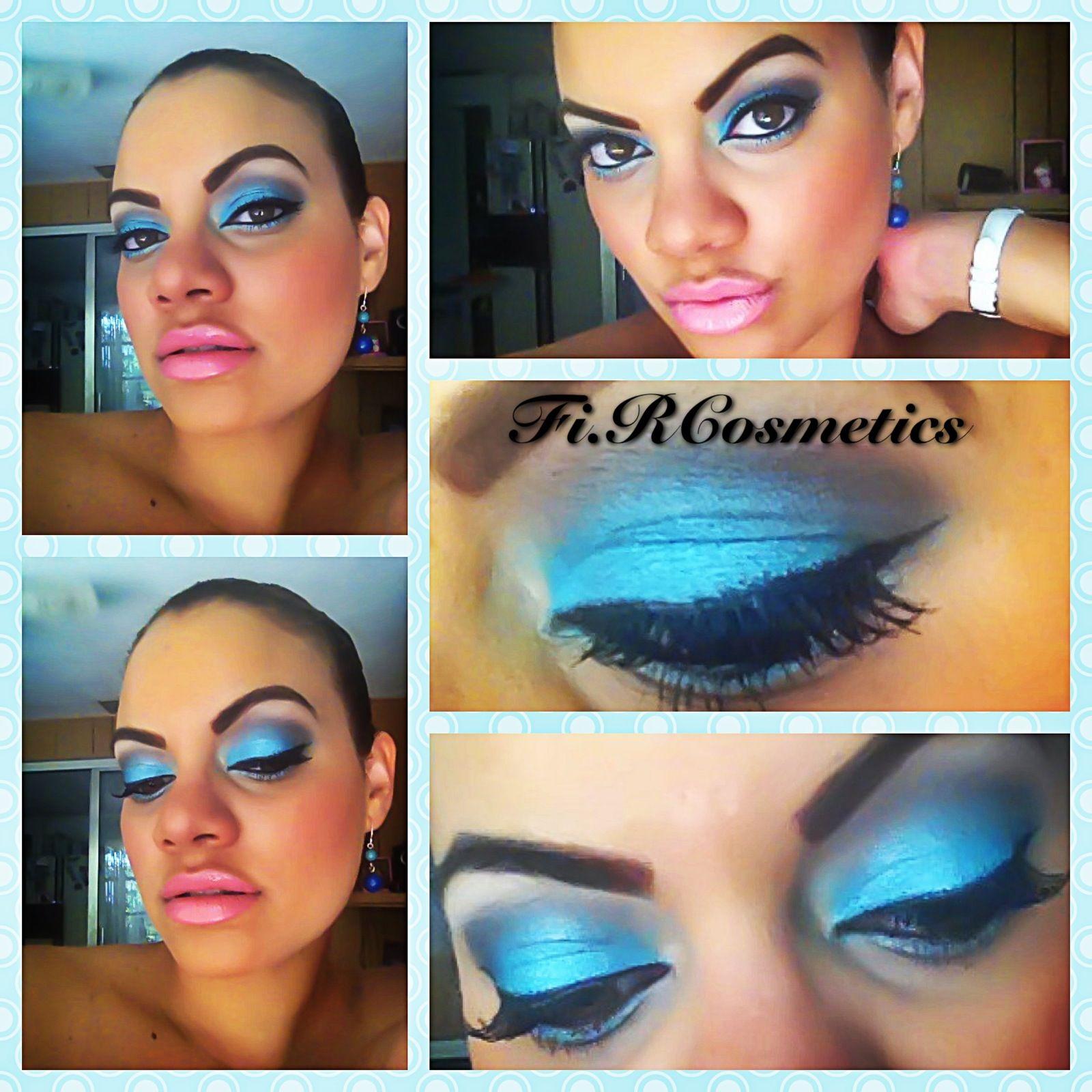 Rocking Fi.R colors Smurfette/Groun/Chocolate/Cotton Candy   Lips Wet & Wild Lipstick #901B/Lip-gloss Milani #43 Designer Label     To order your pigments go to www.fircosmetics.com