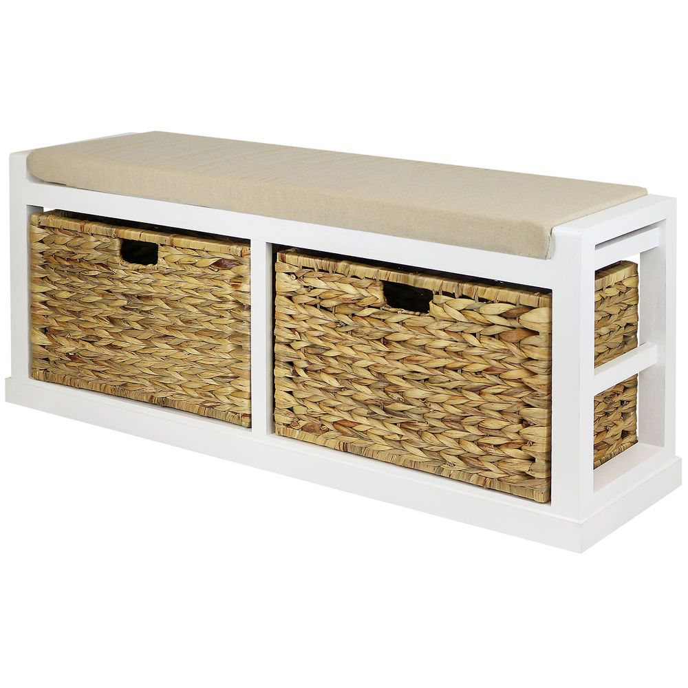 Remarkable Hartleys Extra Large Hallway Storage Bench With Foam Padded Pdpeps Interior Chair Design Pdpepsorg