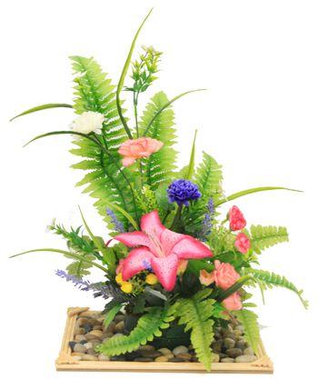 Arreglo Floral Centro De Mesa Con Flores Para Bodas