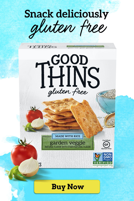 Gluten-Free GOOD THINS garden veggie