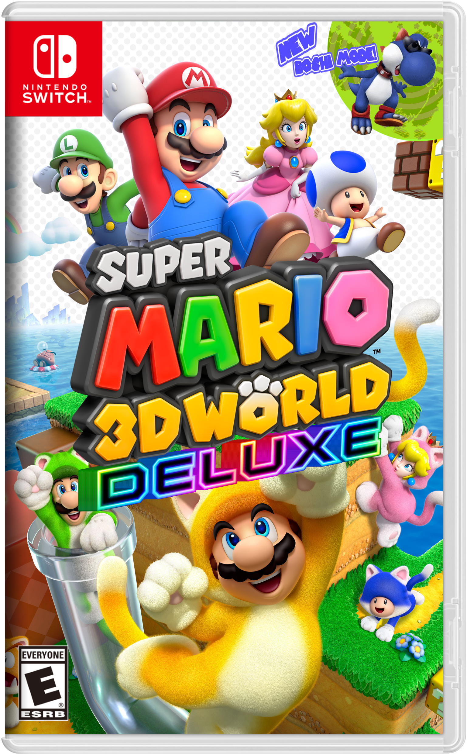Super Mario 3d World Deluxe For Nintendo Switch Nintendo Switch Super Mario 3d Nintendo Switch Super Mario Super Mario Plush