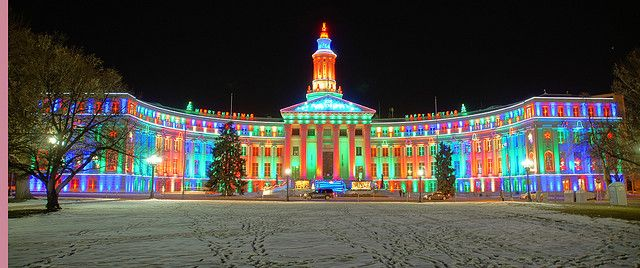 court houses at christmas | Court House