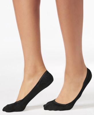 CALVIN KLEIN Calvin Klein Women's 2-Pk. Mesh Logo Liner Socks. #calvinklein #cloth # activewear