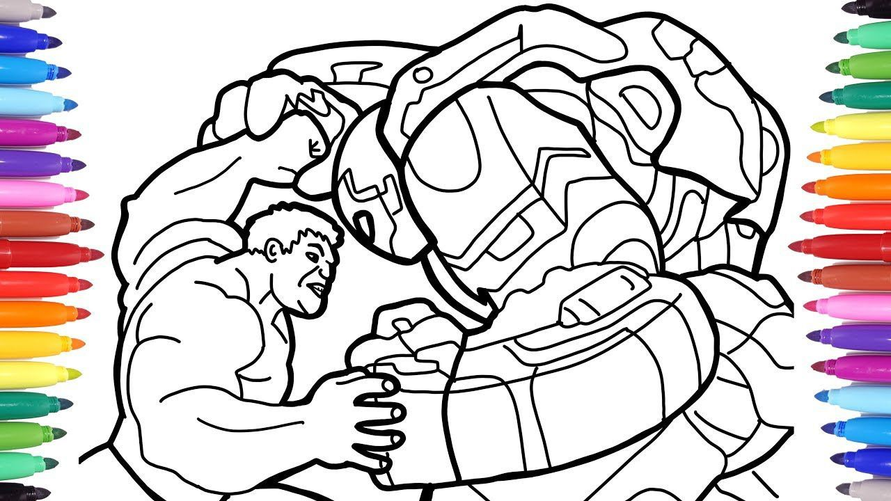 Easy Spiderman Colouring Pages