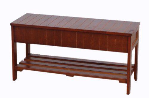 70 Off Was 171 95 Now Is 50 99 Roundhill Quality Solid Wood Shoe Bench With Storage Cherry Bench With Storage Storage Bench Wood Storage Bench