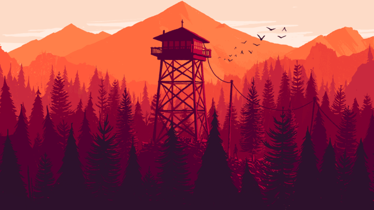 Firewatch Priced, Discounted on PC Abstract iphone