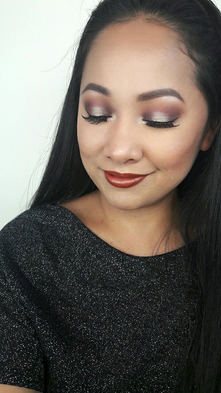 Video tutorial on youtube with this cranberry halo smokey