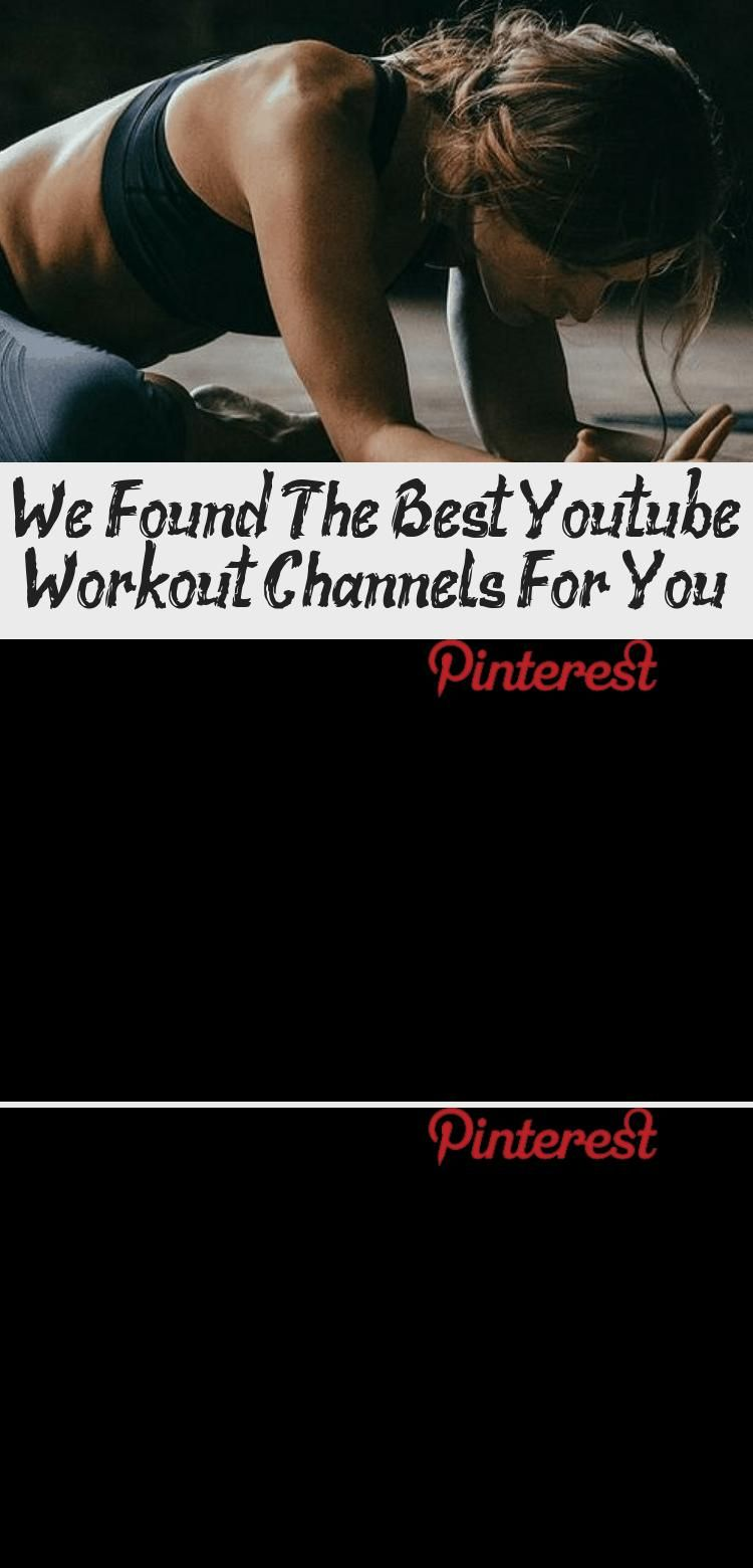 We Found the Best Youtube Workout Channels for You. #workout #youtube #fitness #fitnessandhealth #wo...