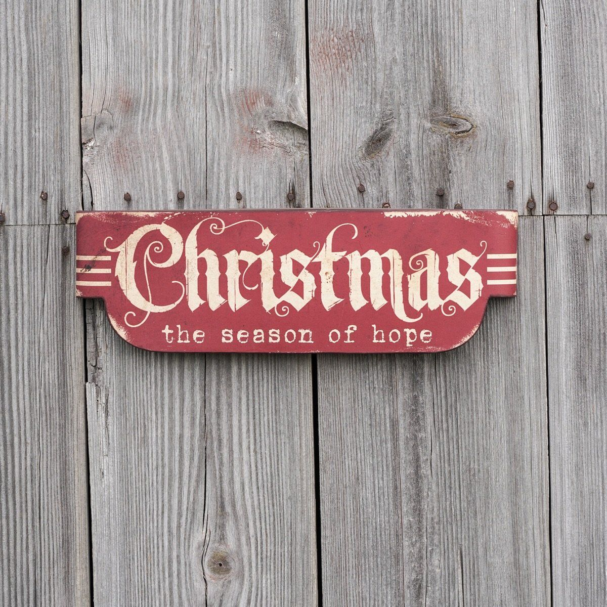 Christmas Season of Hope Sign in 2020 Hope sign