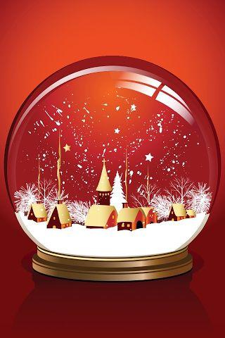 World Inside A Glass Ball Christmas Snow Globes Snow Globes Christmas Globes