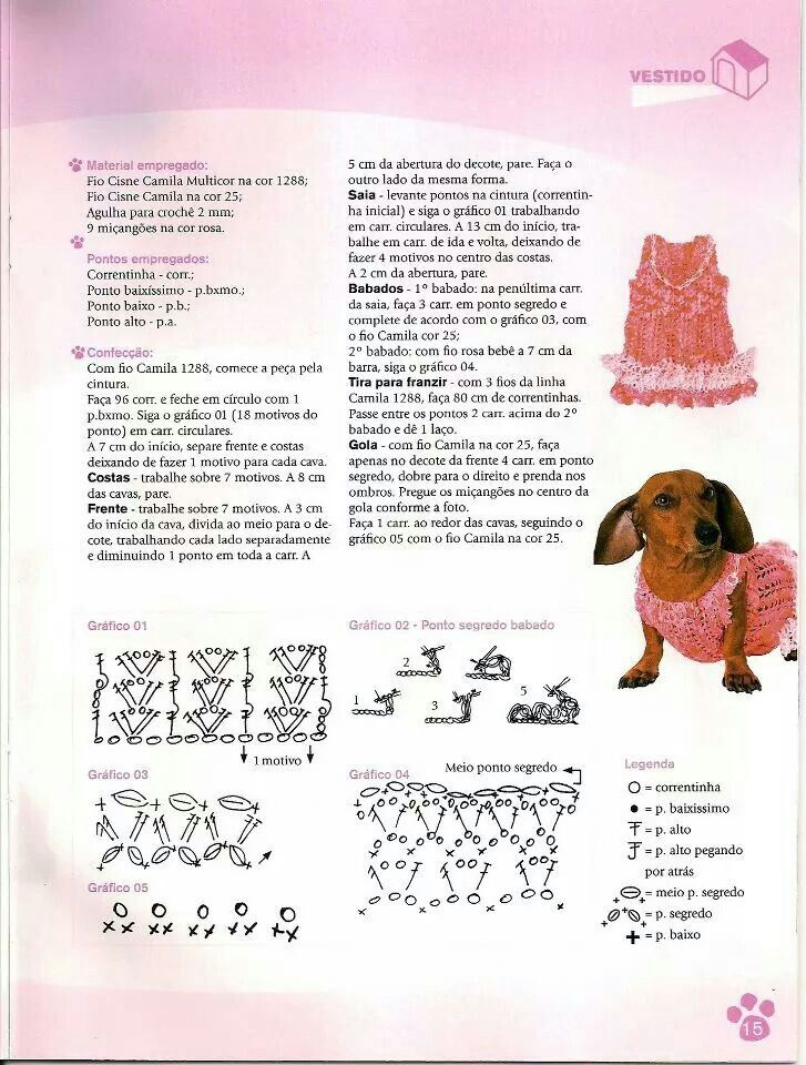 Pin de Martha Lioness en Dogs | Pinterest | Vestidos para perros ...