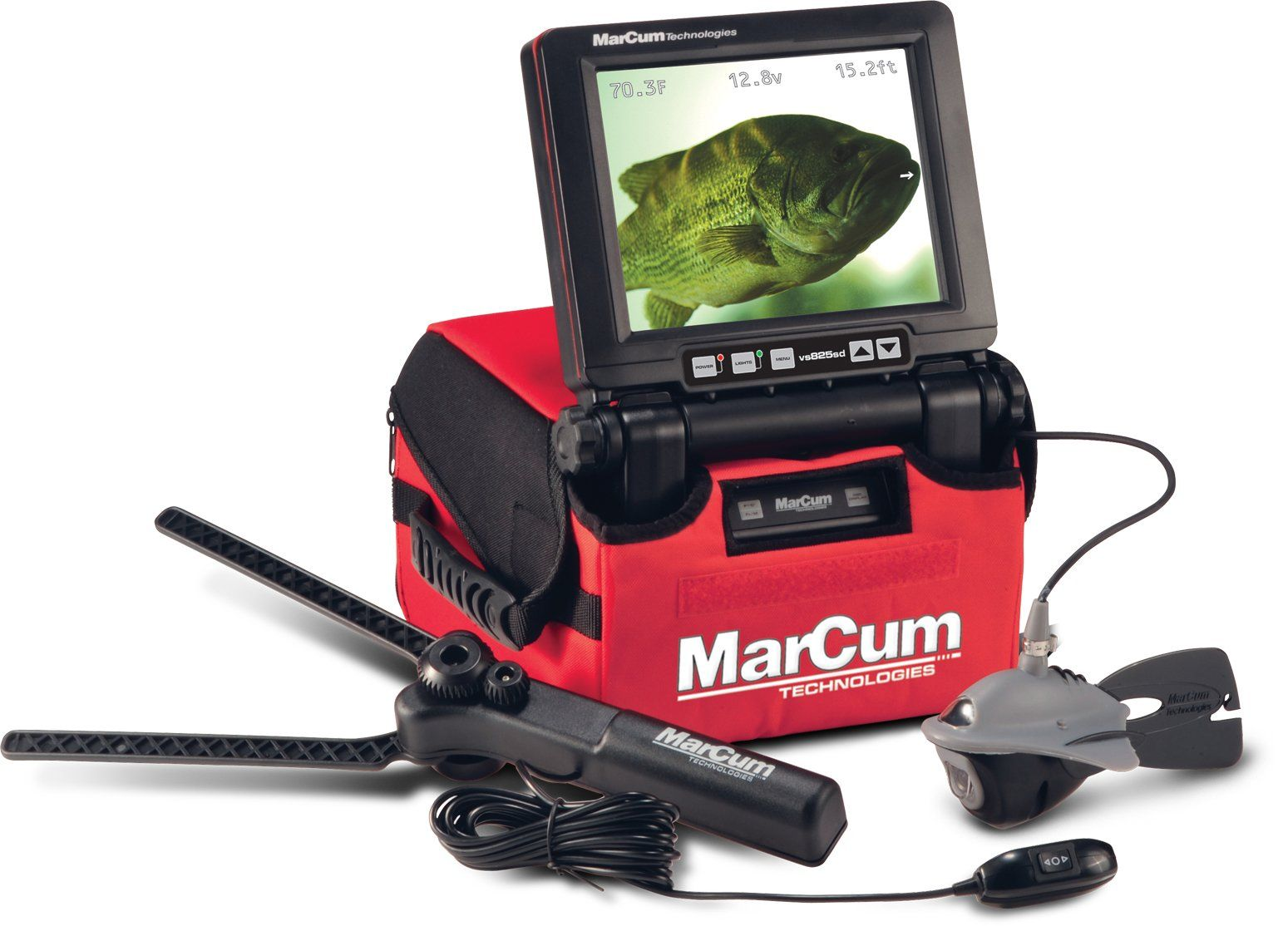 Marcum VS825SD Underwater Camera with 8 inch screen | Fish-Finders ...