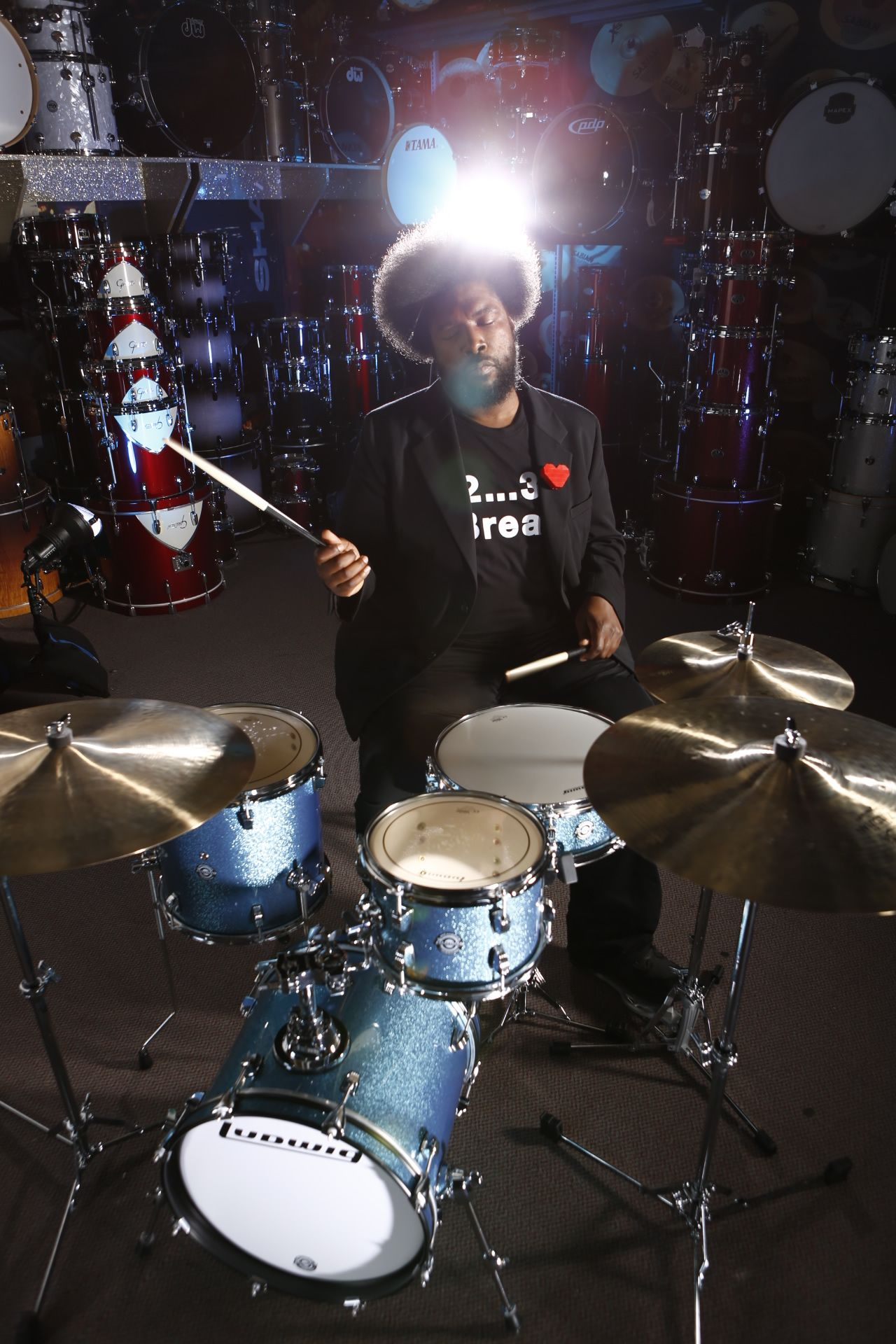 questlove this guy has impeccable meter drummers in 2019 drums snare drum percussion. Black Bedroom Furniture Sets. Home Design Ideas