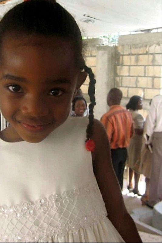 Sweet face.  Haiti, 2011