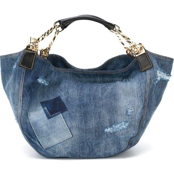denim tote bag - Blue Dsquared2 mFFFUR