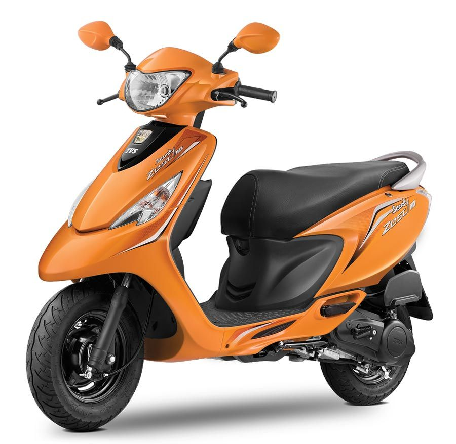 Tvs Scooty Zest 110 Colors Yellow Red Black Blue Pink