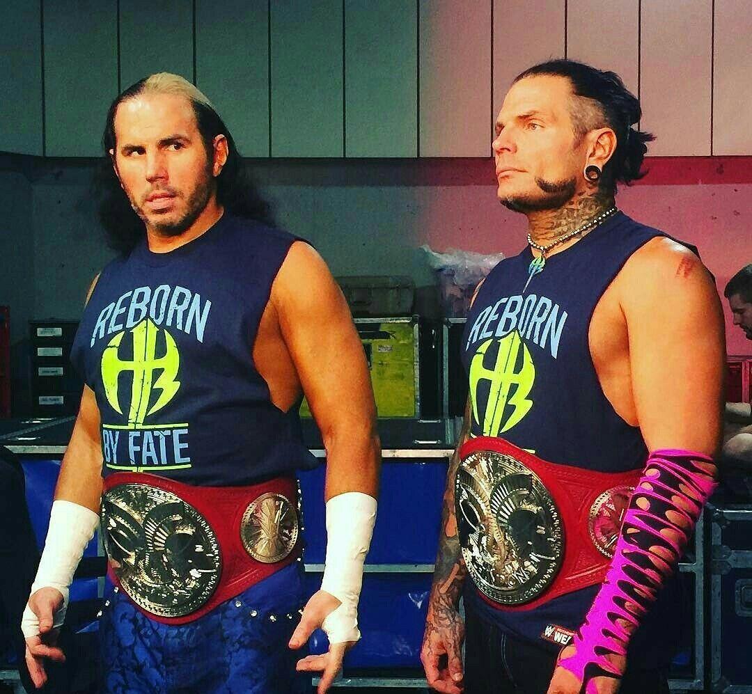 Matt & Jeff Hardy | Hardy boys wwe, Wwe jeff hardy, The ...