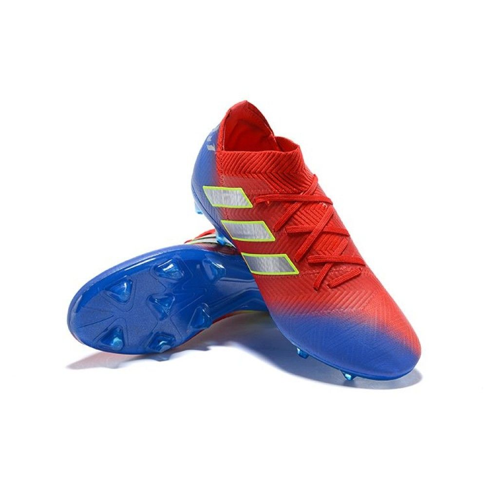 46a142993396 Adidas Nemeziz Messi 18.1 FG (Blue Red Yellow)