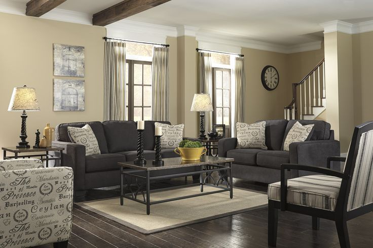 Beautiful Gray Sofa Living Room Contemporary Decorating Ideas 25