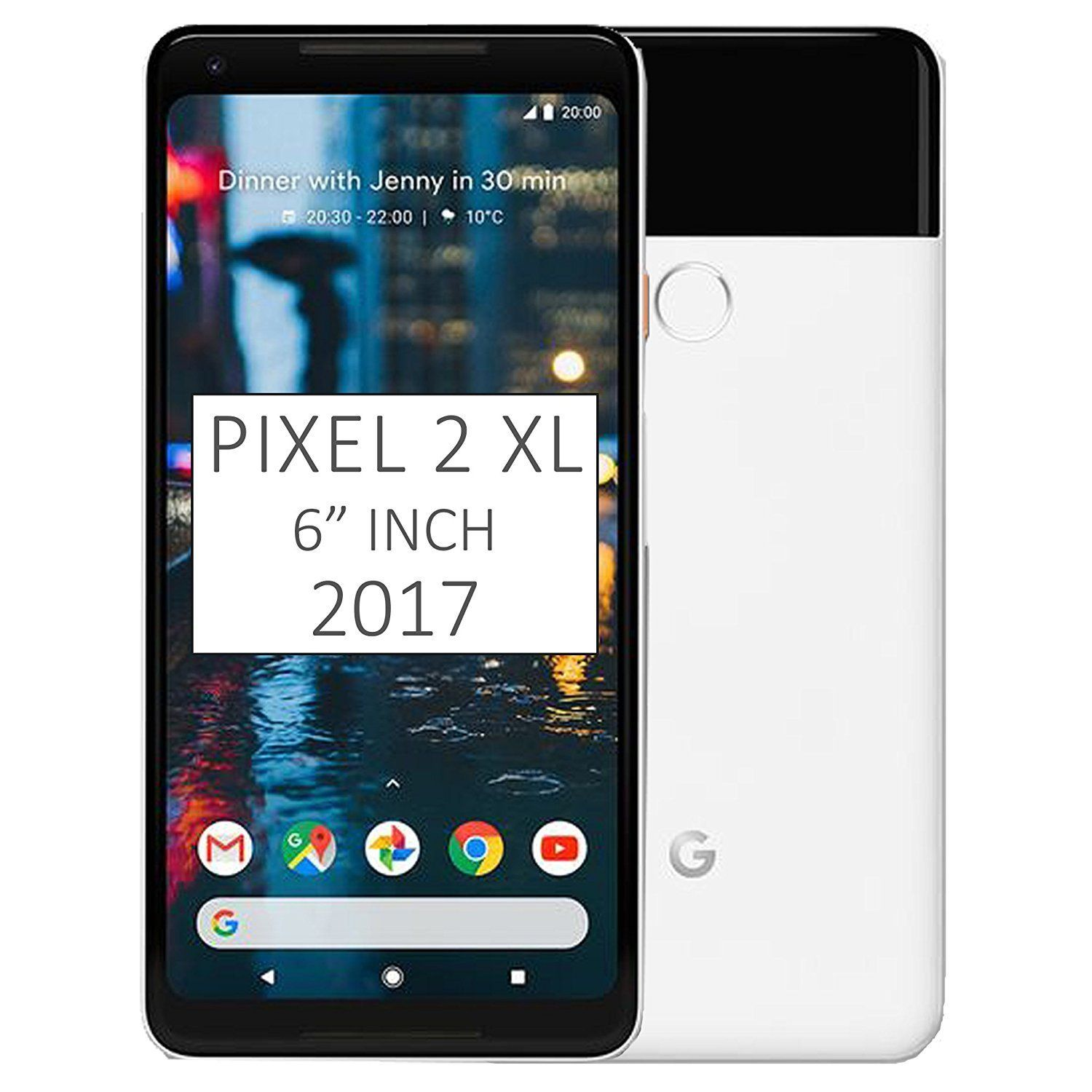 Pixel 2 Xl Phone 2017 By Google 128gb G011c 6 Inch Factory Unlocked Android 4g Lte Smartphone Black White International Version Avec Images Blanc Stylo