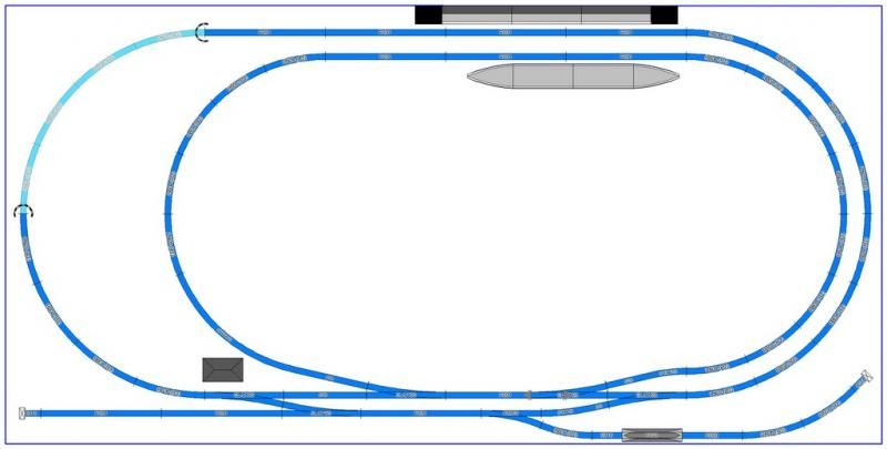 A new family 8x4 layout - Layout & Track Design - RMweb
