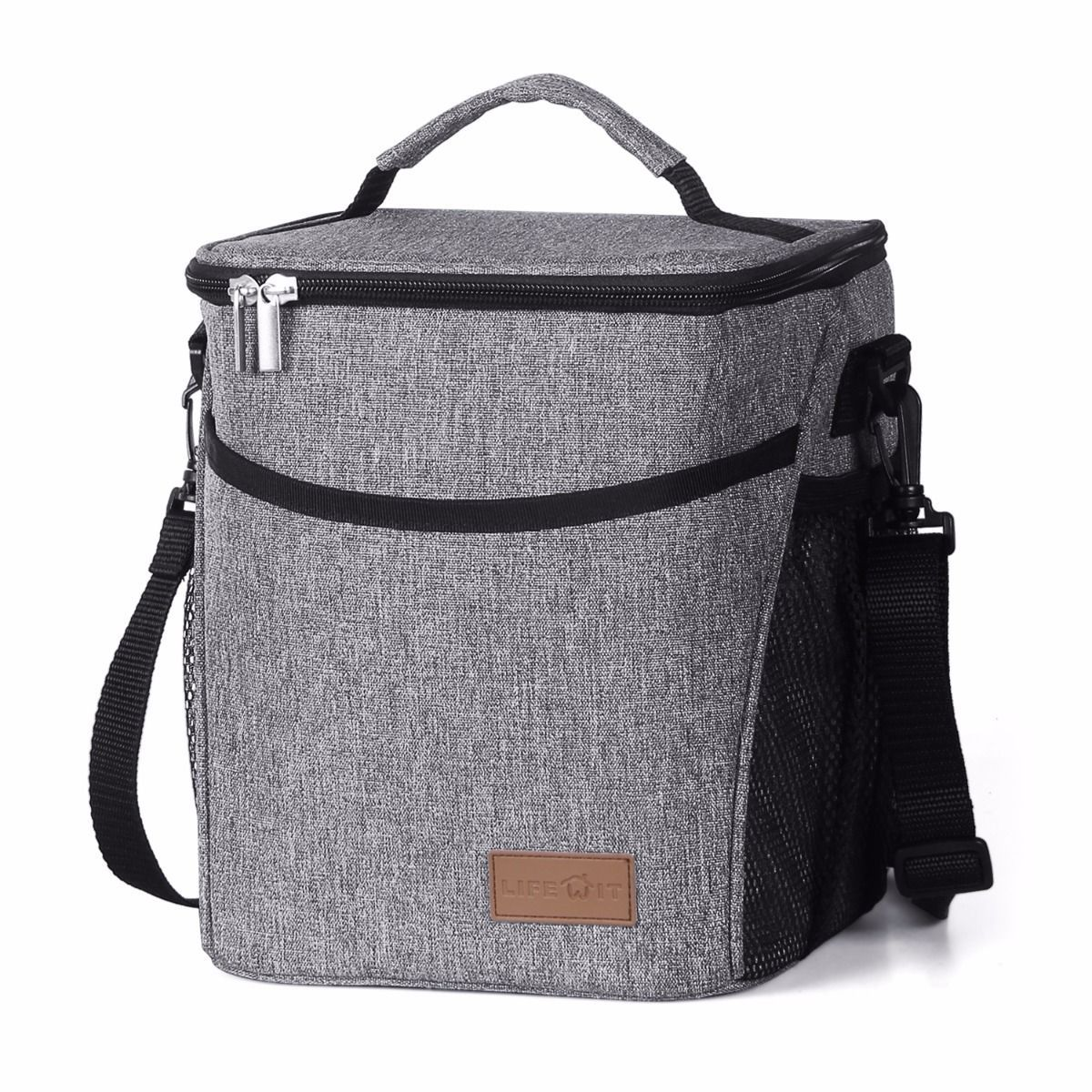 b1585152d917 Lifewit 9L Large Insulated Lunch Bag Waterproof Thermal Cooler Bag ...