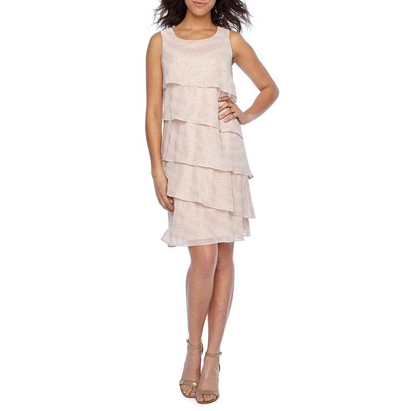 05cb2d15b2e Jessica Howard Sleeveless Fit   Flare Dress