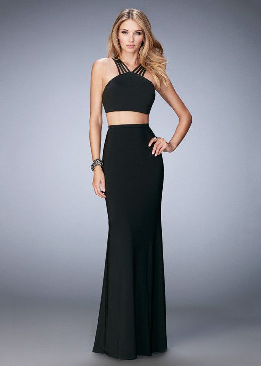 La Femme 22236 Sleek Criss Cross Strappy Open Back Dress For Sale [la femme 22236 black] – $149.00 : Cheap Prom Dresses & Homecoming Dresses For Sale Online