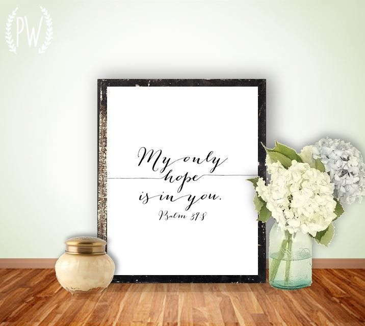 Instant download bible verse printable scripture print for Bible verse decor