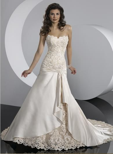 I am loving lace wedding gowns at the moment...good thing I have a ...