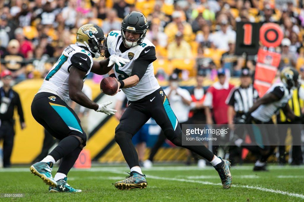 News Photo Jacksonville Jaguars quarterback Blake