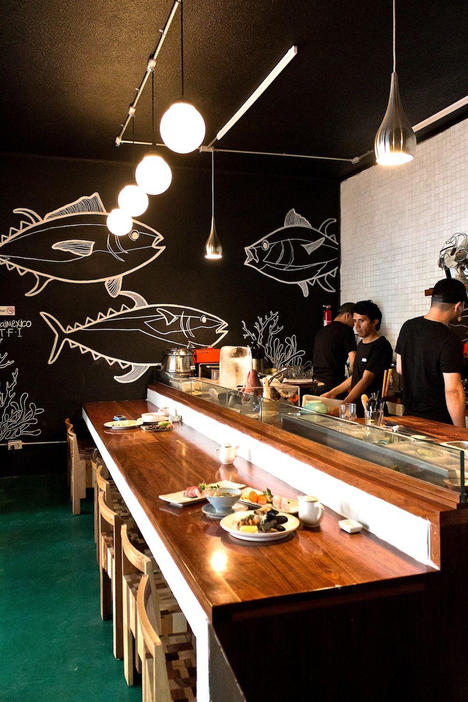 Coolhuntermx Rokai Un Pedazo De Japón En D F Restaurante Pescado Barras Para Restaurante Restaurantes