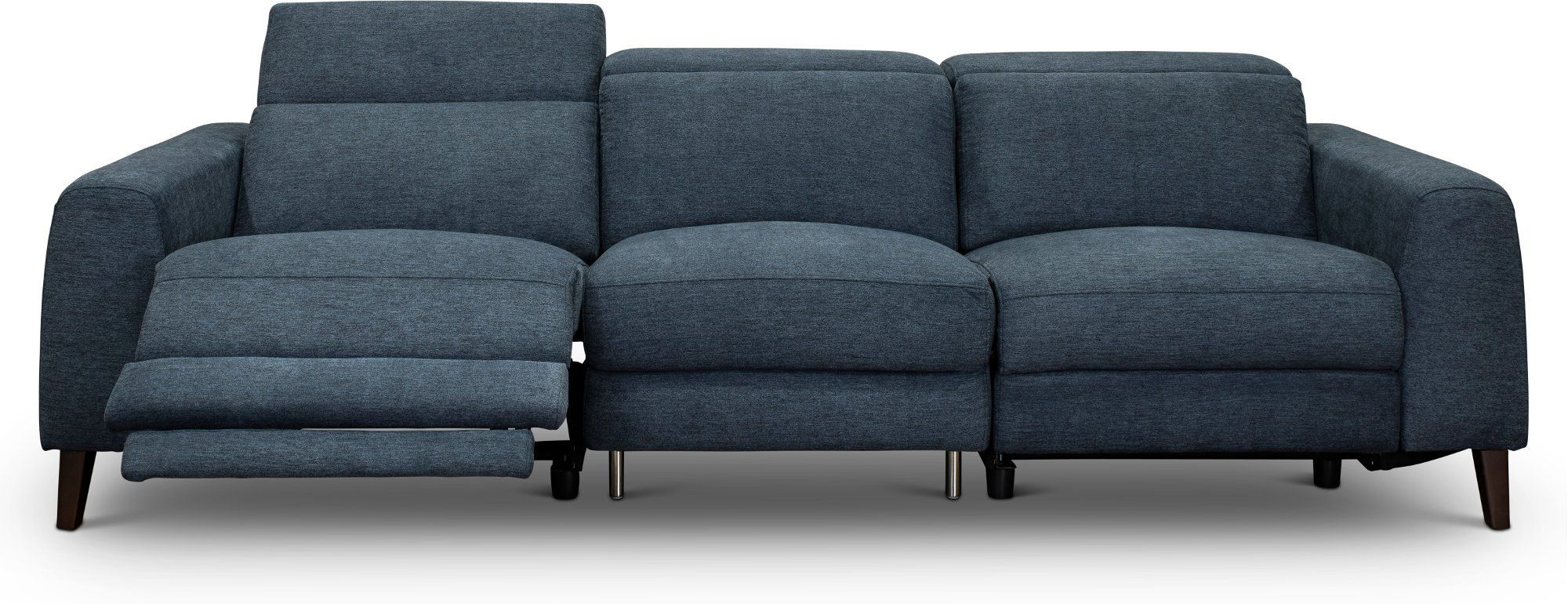 Navy Blue Transitional Power Reclining Sofa Royals With Images