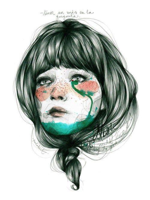 10215_-_Tener_un_nudo_en_la_garganta_1024x1024   Art   Pinterest ...