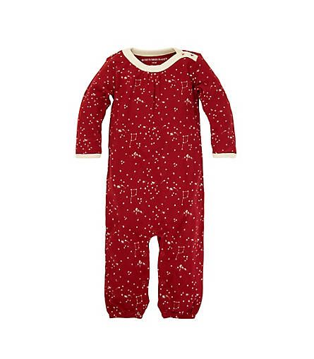 563115af8 Baby Organic Cotton Little Dipper Gathered Coverall - Burt's Bees Baby