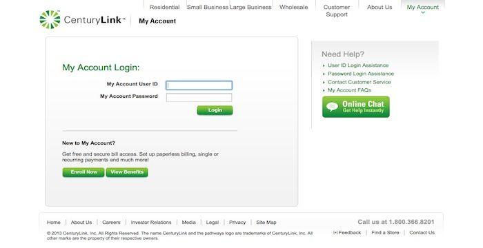 Centurylink Login Centurylink Com Online Email Online Email